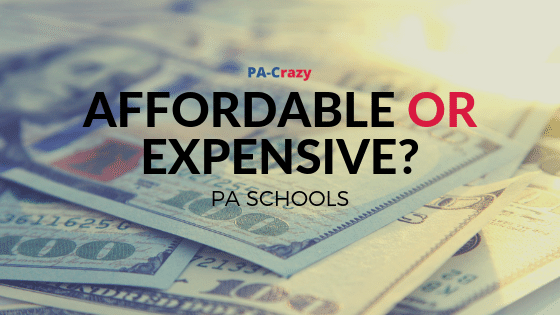 Cheap or Expensive PA School?